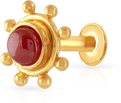 Malabar Gold and Diamonds NPDSDZ015 22kt Yellow Gold Stud