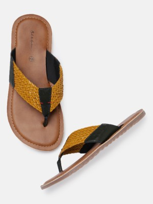 Mast & Harbour Men Yellow Casual at flipkart
