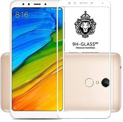 Macron Edge To Edge Tempered Glass for Redmi Note 5 (5D Full Glue tempered Glass) White(Pack of 1)(Pack of 1)