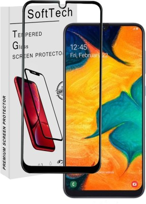 SoftTech Edge To Edge Tempered Glass for Samsung Galaxy F41, Samsung Galaxy M30S, Samsung Galaxy M21(Pack of 1)
