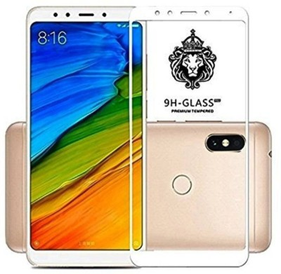 Macron Edge To Edge Tempered Glass for Redmi Note 5 Pro (5D Full Glue tempered Glass) White(Pack of 1)(Pack of 1)