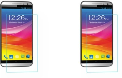 Macron Tempered Glass Guard for Micromax Canvas Juice 2 Aq5001 (Pack Of 2)(Pack of 2)(Pack of 2)