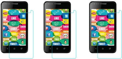 Macron Tempered Glass Guard for Karbonn Smart A2(Pack of 3)(Pack of 3)