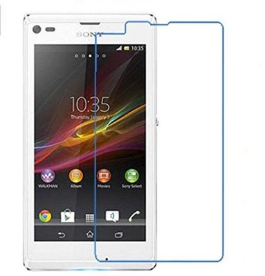 VaiMi Tempered Glass Guard for Sony Xperia L(Pack of 1)