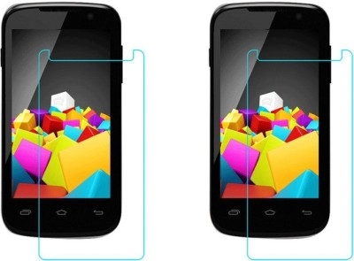 Macron Tempered Glass Guard for Micromax Canvas Fun A63(Pack of 2)(Pack of 2)