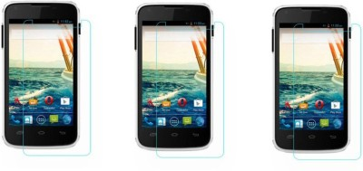 Macron Tempered Glass Guard for Micromax Canvas Unite A092(Pack of 3)(Pack of 3)