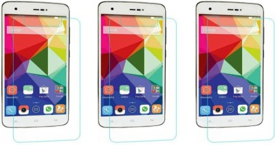 Macron Tempered Glass Guard for Gionee Ctrl V6l 4g (Pack of 3)(Pack of 3)(Pack of 3)