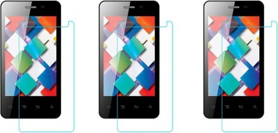 Macron Tempered Glass Guard for Karbonn Smart A10(Pack of 3)(Pack of 3)