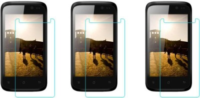 Macron Tempered Glass Guard for Karbonn Smart A12(Pack of 3)(Pack of 3)
