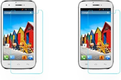 Macron Tempered Glass Guard for Micromax Superfone Canvas 3d A115(Pack of 2)(Pack of 2)