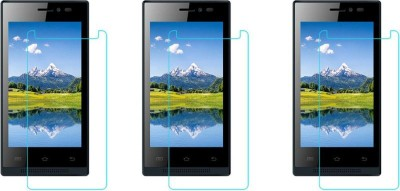 Macron Tempered Glass Guard for Intex Aqua Y2+ Plus(Pack of 3)(Pack of 3)