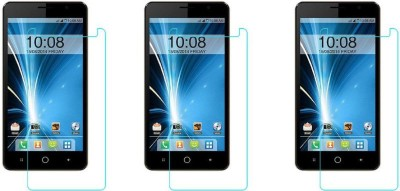Macron Tempered Glass Guard for Intex Aqua Star 5.0(Pack of 3)(Pack of 3)