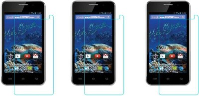 Macron Tempered Glass Guard for Karbonn Smart A5s(Pack of 3)(Pack of 3)