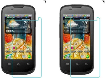 Macron Tempered Glass Guard for Micromax Ninja A57(Pack of 2)