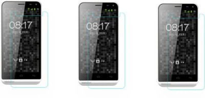 Macron Tempered Glass Guard for Karbonn Smart A8(Pack of 3)(Pack of 3)