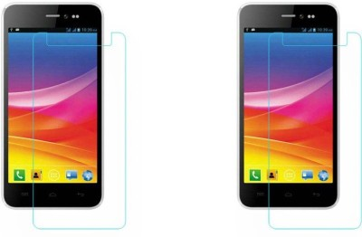Macron Tempered Glass Guard for Micromax Q371 Canvas Pep, (Pack of 2)(Pack of 2)(Pack of 2)