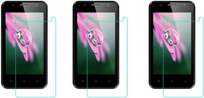 Macron Tempered Glass Guard for Karbonn Smart A4(Pack of 3)(Pack of 3)