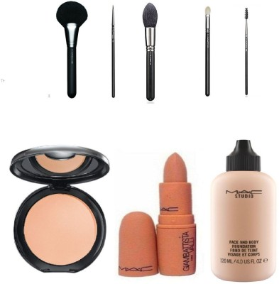 M.A.C makeup kit 8 in 1(Set of 8)