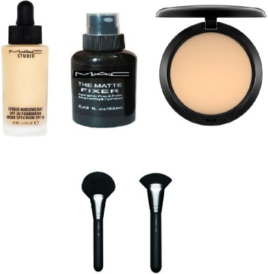 M.A.C makeup kit ( pack of five)(Set of 5)