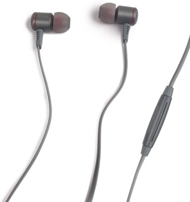Adoff AD220 Wired Headset(Grey, In the Ear)