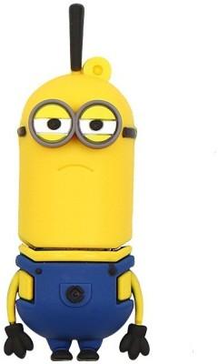Pankreeti PKT881 Minion Cartoon Designer 16  GB Pen Drive Yellow Pankreeti Pen Drives