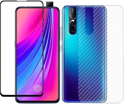 Case Creation Front and Back Screen Guard for Vivo V15 Pro 2019(Pack of 2)