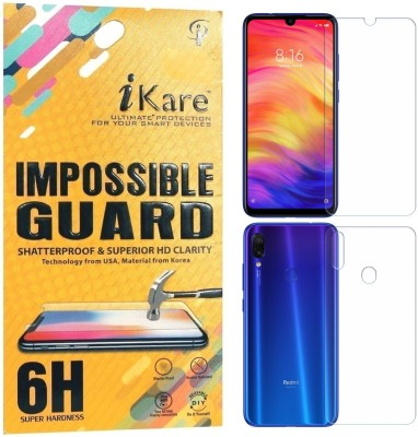 iKare Front and Back Screen Guard for Mi Redmi Note 7, Mi Redmi Note 7 Pro, Mi Redmi Note 7S(Pack of 1)