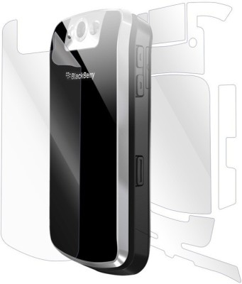 Macron Front and Back Tempered Glass for Front and Back Tempered Glass for BlackBerry Pearl Flip 8230(Pack of 2)