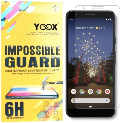 Yoox Impossible Screen Guard for Google Pixel 3A(Pack of 1)