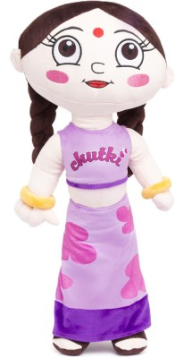 Chhota Bheem Chutki Plush Toy 50 cm  - 50 cm(Purple)