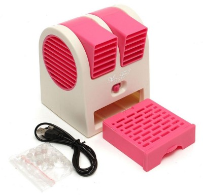 Sheling and Air conditioner AC21 Mini Air Cooler JOM21 USB Fan Pink Sheling Mobile Accessories
