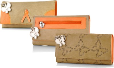 Butterflies Casual Beige  Clutch at flipkart