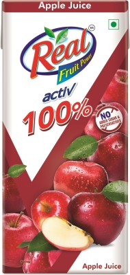 Real Activ 100% Apple Juice(200 ml)