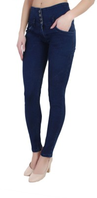 Ansh Fashion Wear Regular Women Blue Jeans