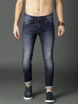 Roadster Skinny Men Blue Jeans at flipkart