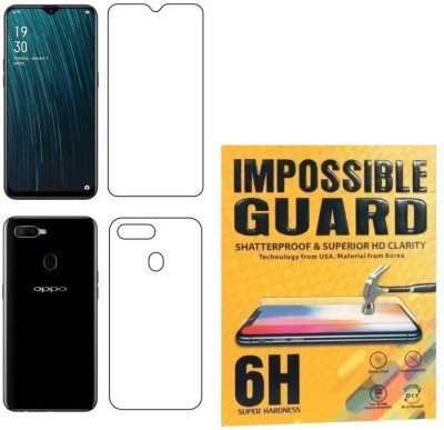 QuikDeal Front and Back Screen Guard for Oppo A5s(Pack of 1)