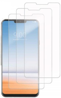 Macron Tempered Glass Guard for LG G7 ThinQ(Pack of 3)(Pack of 1)