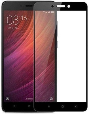 Macron Tempered Glass Guard for XIAOMI Mi Redmi Note 4 (Black 5D GLASS)(Pack of 1)(Pack of 1)