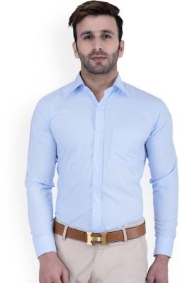 FILAFIL Men Solid Casual Light Blue Shirt