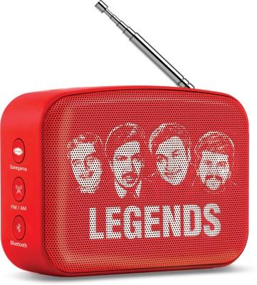 Saregama Carvaan Mini Kannada 5 W Bluetooth Speaker(Sunset Red, Stereo Channel)