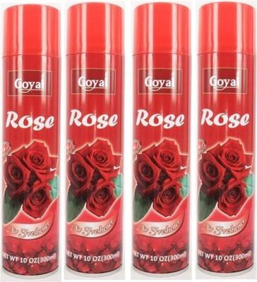 Goyal Rose Spray 4 x 300 ml Goyal Car Perfume