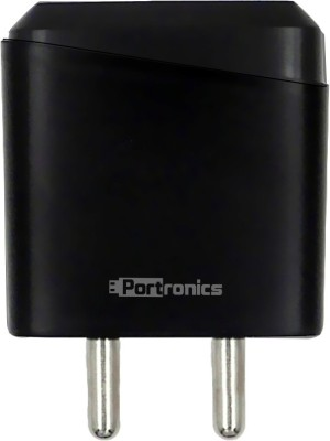 Portronics POR 144 ADAPTO 144 2.1A with Single USB Port 10 W 2.1 A Mobile Charger Black Portronics Wall Chargers