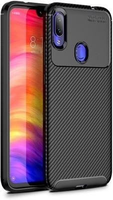 Wellpoint Back Cover for Mi Redmi Note 7S, Mi Redmi Note 7 Pro, Mi Redmi Note 7, Plain Case(Red, Grip Case)