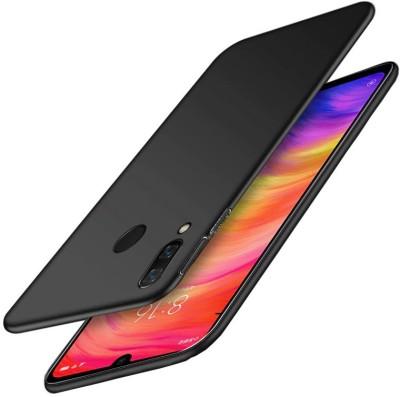 Wellpoint Back Cover for Mi Redmi Note 7S, Mi Redmi Note 7 Pro, Mi Redmi Note 7, Plain Case(Blue, Grip Case)