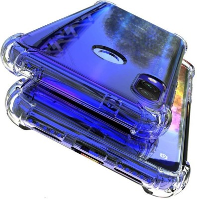 Wellpoint Back Cover for Mi Redmi Note 7S, Mi Redmi Note 7 Pro, Mi Redmi Note 7, Plain Case(Transparent, Grip Case)