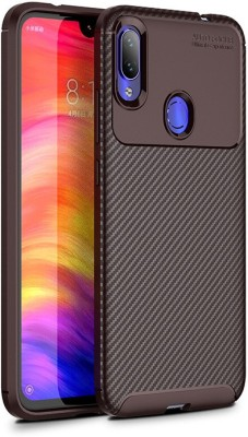 Wellpoint Back Cover for Mi Redmi Note 7S, Mi Redmi Note 7 Pro, Mi Redmi Note 7, Plain Case(Brown, Grip Case)