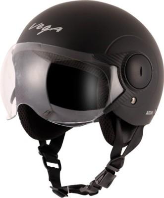 VEGA Atom Motorbike Helmet(Dull Black)