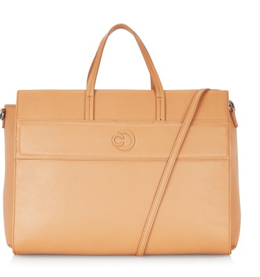Caprese 13 inch inch Laptop Messenger Bag(Brown)