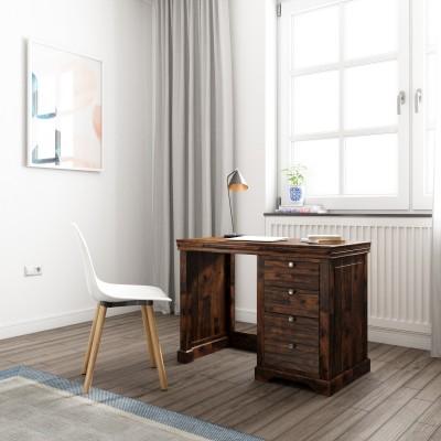 Flipkart Perfect Homes Sheesham Wood Solid Wood Study Table(Free Standing, Finish Color - Teak)
