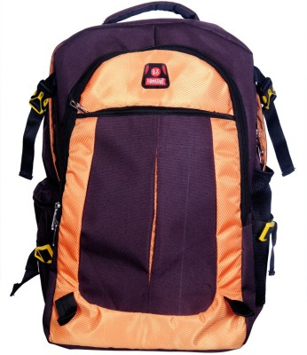 I Gold Star Rack sack 003 Rucksack  - 50 L(Brown, Orange)